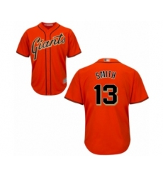 Men's San Francisco Giants #13 Will Smith Replica Orange Alternate Cool Base Baseball Jersey