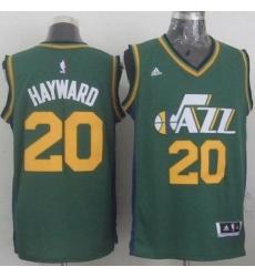 Revolution 30 Jazz #20 Gordon Hayward Green Stitched NBA Jerse
