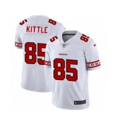 Men's San Francisco 49ers #85 George Kittle White Team Logo Cool Edition Jersey
