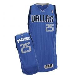 Revolution 30 Mavericks #25 Chandler Parsons Sky Blue Stitched NBA Jersey