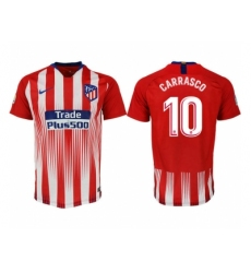 2018-2019 Atletico Madrid home aaa version 10 Club Soccer Jersey