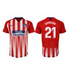 2018-2019 Atletico Madrid home aaa version 21 Club Soccer Jersey