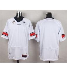 NCAA Auburn tigers bkank white jersey