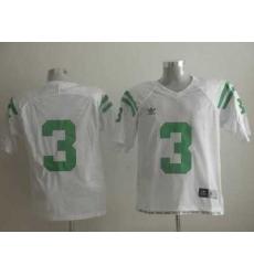 Dame #3 Joe Montana White Embroidered NCAA Jersey