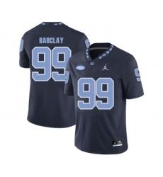 North Carolina Tar Heels 99 George Barclay Black College Football Jersey