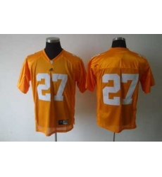 NCAA Tennessee vols #27 Orange jerseys