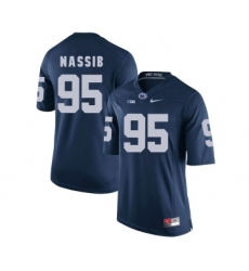 Penn State Nittany Lions 95 Carl Nassib Navy College Football Jersey