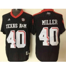 Texas A&M Aggies 40 Von Miller Black College Football Jersey