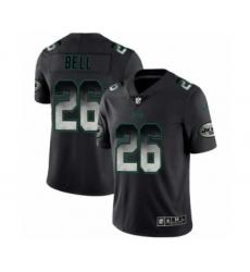 Men New York Jets #26 Le'Veon Bell Black Smoke Fashion Limited Jersey