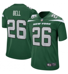 New York Jets #26 Le Veon Bell  Nike Game Jersey – Green
