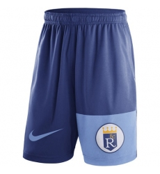 MLB Men's Kansas City Royals Nike Royal Cooperstown Collection Dry Fly Shorts