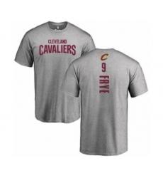NBA Nike Cleveland Cavaliers #9 Channing Frye Ash Backer T-Shir