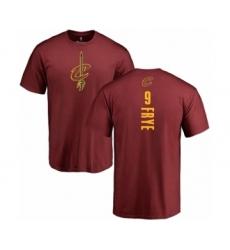 NBA Nike Cleveland Cavaliers #9 Channing Frye Maroon Backer T-Shirt
