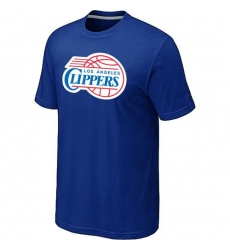 NBA Men's Los Angeles Clippers Big & Tall Primary Logo T-Shirt - Blue