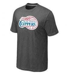 NBA Men's Los Angeles Clippers Big & Tall Primary Logo T-Shirt - Dark Grey