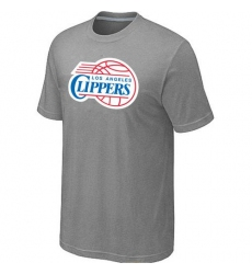 NBA Men's Los Angeles Clippers Big & Tall Primary Logo T-Shirt - Grey