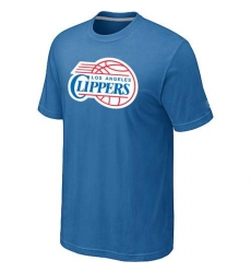 NBA Men's Los Angeles Clippers Big & Tall Primary Logo T-Shirt - Light Blue