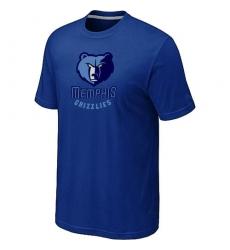 NBA Men's Memphis Grizzlies Big & Tall Primary Logo T-Shirt - Blue