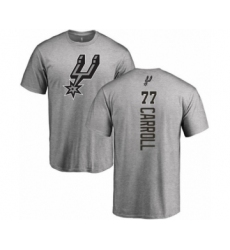Basketball San Antonio Spurs #77 DeMarre Carroll Ash Backer T-Shirt