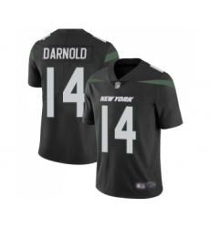 Youth New York Jets #14 Sam Darnold Black Alternate Vapor Untouchable Limited Player Football Jersey
