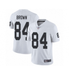 Youth Oakland Raiders #84 Antonio Brown White Vapor Untouchable Limited Player Football Jersey