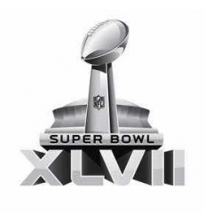 Stitched Super Bowl XLVII Jersey 2013 Patch