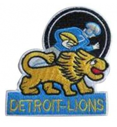 Stitched NFL Detroit Lions Throwback Patch
