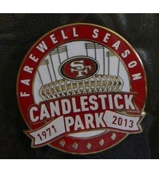 Stitched NFL San Francisco 49ers 1971-2013 Jersey Patch