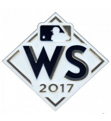 2017 World Series Emboss Tech Patch
