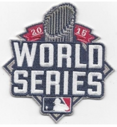 Stitched 2015 World Series Jersey Patch