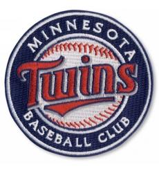 Stitched MLB Minnesota Twins Round Logo Sleeve Patch (2010)