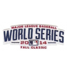 2014 Baseball World Series Logo Jersey Sleeve Patch (Kansas City Royals & San Francisco Giants)