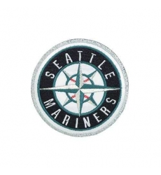 Stitched Baseball Seattle Mariners Home & Away Sleeve Jersey Patch