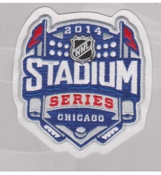 Chicago Blackhawks 2014 Stadium Series Patches