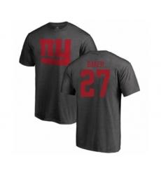 Football New York Giants #27 Deandre Baker Ash One Color T-Shirt