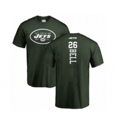 Football New York Jets #26 Le'Veon Bell Green Backer T-Shirt