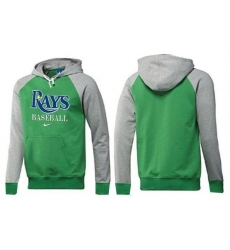 MLB Men's Nike Tampa Bay Rays Pullover Hoodie - Green/Grey