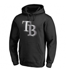 MLB Tampa Bay Rays Platinum Collection Pullover Hoodie - Black