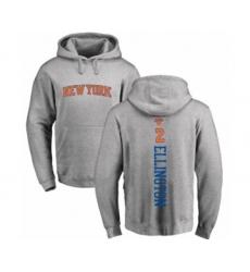 Basketball New York Knicks #2 Wayne Ellington Ash Backer Pullover Hoodie