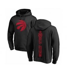 Basketball Toronto Raptors #20 Rondae Hollis-Jefferson Black One Color Backer Pullover Hoodie
