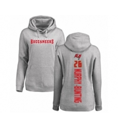Football Women's Tampa Bay Buccaneers #26 Sean Murphy-Bunting Ash Backer Pullover Hoodie