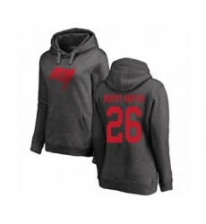 Football Women's Tampa Bay Buccaneers #26 Sean Murphy-Bunting Ash One Color Pullover Hoodie