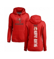 Football Women's Tampa Bay Buccaneers #26 Sean Murphy-Bunting Red Backer Pullover Hoodie