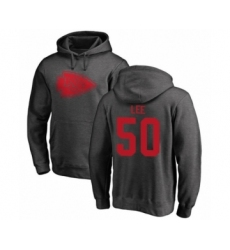Football Kansas City Chiefs #50 Darron Lee Ash One Color Pullover Hoodie