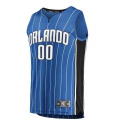 Men's Orlando Magic Fanatics Branded Blue Fast Break Custom Replica Jersey - Icon Edition