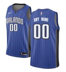 Men's Orlando Magic Nike Royal Swingman Custom Jersey - Icon Edition