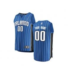 Youth Orlando Magic Fanatics Branded Blue Fast Break Custom Replica Jersey - Icon Edition