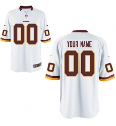 Nike Men's Washington Redskins Customized Game White Jersey