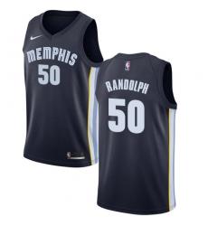 Women's Nike Memphis Grizzlies #50 Zach Randolph Swingman Navy Blue Road NBA Jersey - Icon Edition