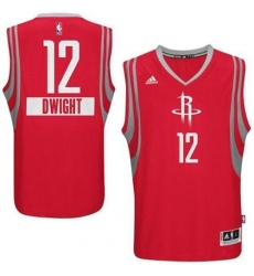 Rockets #12 Dwight Howard Red 2014-15 Christmas Day Stitched NBA Jersey